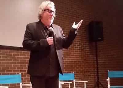 Special guest, screenwriter Larry Karaszewski
