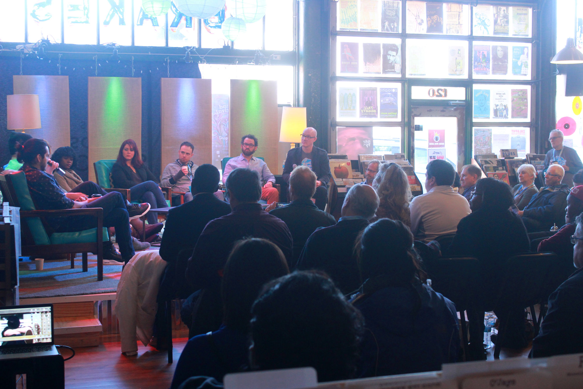 Coffee Talk with filmmakers at Ignition Music