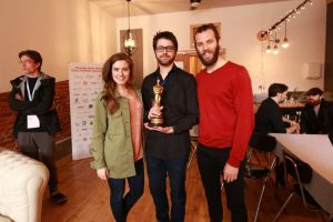 Writer/Actor, Rachel Shenton and Director, Chris Overton