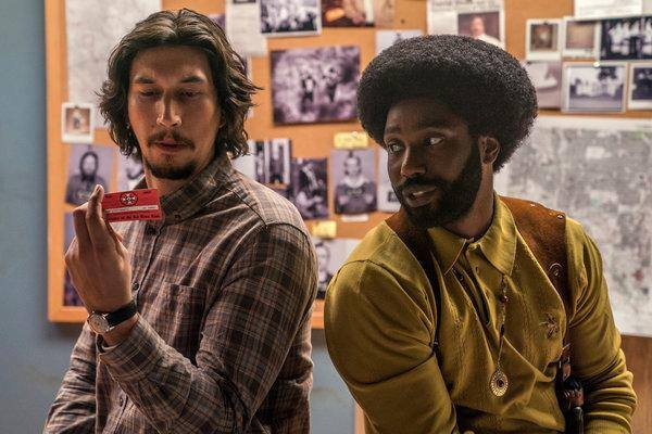 Films Making a Splash: BlacKkKlansman