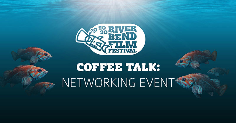 River Bend Film Festival Coffee Talk Hosted by Dave and Carrie Lee Bland-Kendall